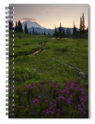 Mountain Heather Sunset Spiral Notebook