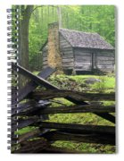 Mountain Homestead Spiral Notebook