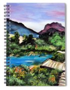 Mountain Lake Spiral Notebook