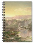 Mountain Lake Near Piedmont Spiral Notebook