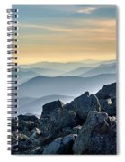 Mountain Layers Spiral Notebook
