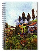 Mountain Living Impasto Spiral Notebook