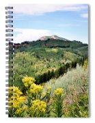 Mountain Meadows Spiral Notebook