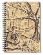 Mountain Oasis Spiral Notebook