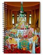 Mountain Of Christmas Cheer Spiral Notebook