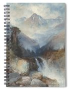 Mountain Of The Holy Cross Spiral Notebook