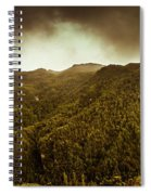 Mountain Of Trees Spiral Notebook
