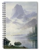 Mountain Out Of The Mist Spiral Notebook