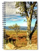 Mountain Overlook At High Point New Jersey Spiral Notebook