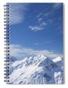 Mountain Panorama Lech Near St Saint Anton Am Arlberg Austria Spiral Notebook