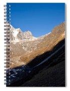 Mountain Peak, Kumuche Himal Spiral Notebook