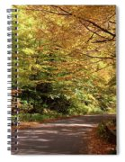 Mountain Road Stowe Vt Spiral Notebook