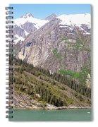 Mountain Slopes Spiral Notebook