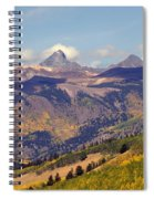 Mountain Splendor 2 Spiral Notebook