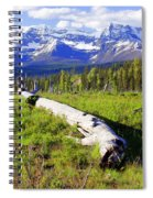 Mountain Splendor Spiral Notebook