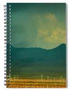 Mountain Storm Spiral Notebook