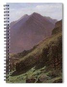 Mountain Study Spiral Notebook