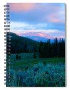 Mountain Sunrise Spiral Notebook