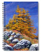 Mountain Tamaracks Spiral Notebook