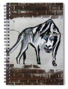 Mountain Tiger Spiral Notebook