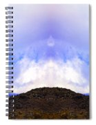 Mountain Tops In Sicily Spiral Notebook