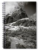 Mountain Track Spiral Notebook