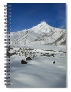 Mountain Tracks Spiral Notebook