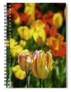 Mountain Tulips Spiral Notebook