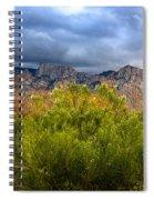 Mountain Valley No33 Spiral Notebook