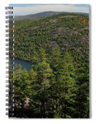 Mountain View, Acadia National Park Spiral Notebook