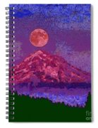 Mountain View Lit Fragmented Spiral Notebook