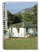 Mountain Village Mosque Spiral Notebook