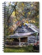 Mountain Vintage Spiral Notebook