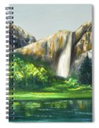 Mountain Waterfall Spiral Notebook