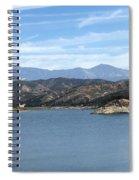 Mountainous View Spiral Notebook
