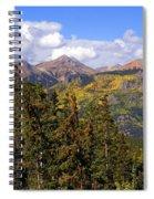 Mountains Aglow Spiral Notebook