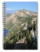 Mountains Around Crater Lake Spiral Notebook