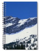 Mountains Covered With Snow, Little Spiral Notebook
