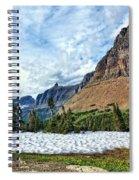 Mountains In Glacier National Park 2 Spiral Notebook