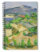 Mountains In Provence Spiral Notebook