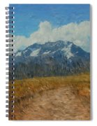 Mountains In Puru Spiral Notebook
