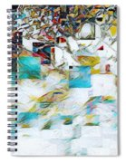 Snowy Mountains Spiral Notebook