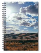 Mountains Of Sand Spiral Notebook