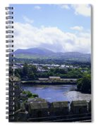 Mountains Of Wales Spiral Notebook