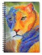 Mountian Lion 1 Spiral Notebook