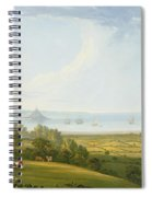 Mounts Bay From Ludgvan Spiral Notebook