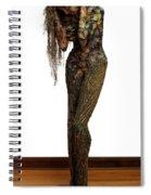 Mourning Moss A Sculpture By Adam Long Spiral Notebook