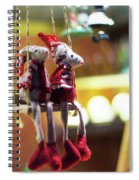 Mouse Love London Spiral Notebook