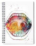 Mouth Anatomy Spiral Notebook