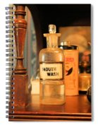 Mouth Wash In The Old Days Spiral Notebook
